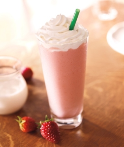 Strawberries and creme Starbucks