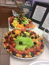 Fruit Salad we made for an event